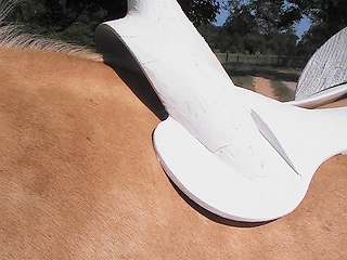 angle for saddle fit