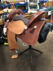 Caldwell Saddle - Maxed Out 15 1/2""