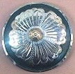 Caldwell Saddle - custom conchos black sunflower