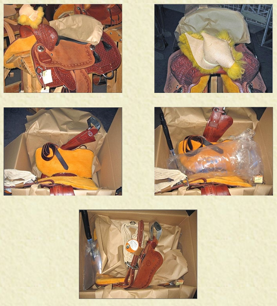 Caldwell Saddle - correct packing