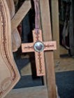 Caldwell Saddle - custom additions cross 2