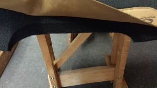 Caldwell Saddle - leg cutout