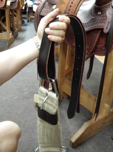 Caldwell Saddle - hanging latigo 1