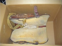 Caldwell Saddle - saddle improper packing-3
