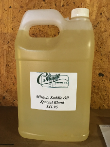 Caldwell Saddle - saddle oil