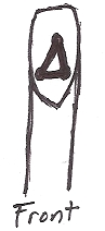 Caldwell Saddle - tie strap lacing-4