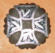 Caldwell Saddle - custom conchos yosemite
