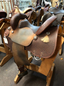 "Custom Saddle Maker - 14 1/2"" Maxed Out"