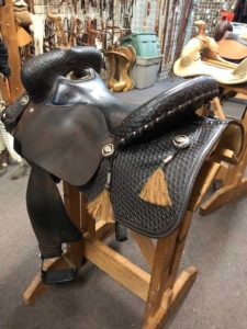 "TG Racer. 16"" used saddle"