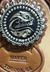 Cadlwell Saddle Makers Mark